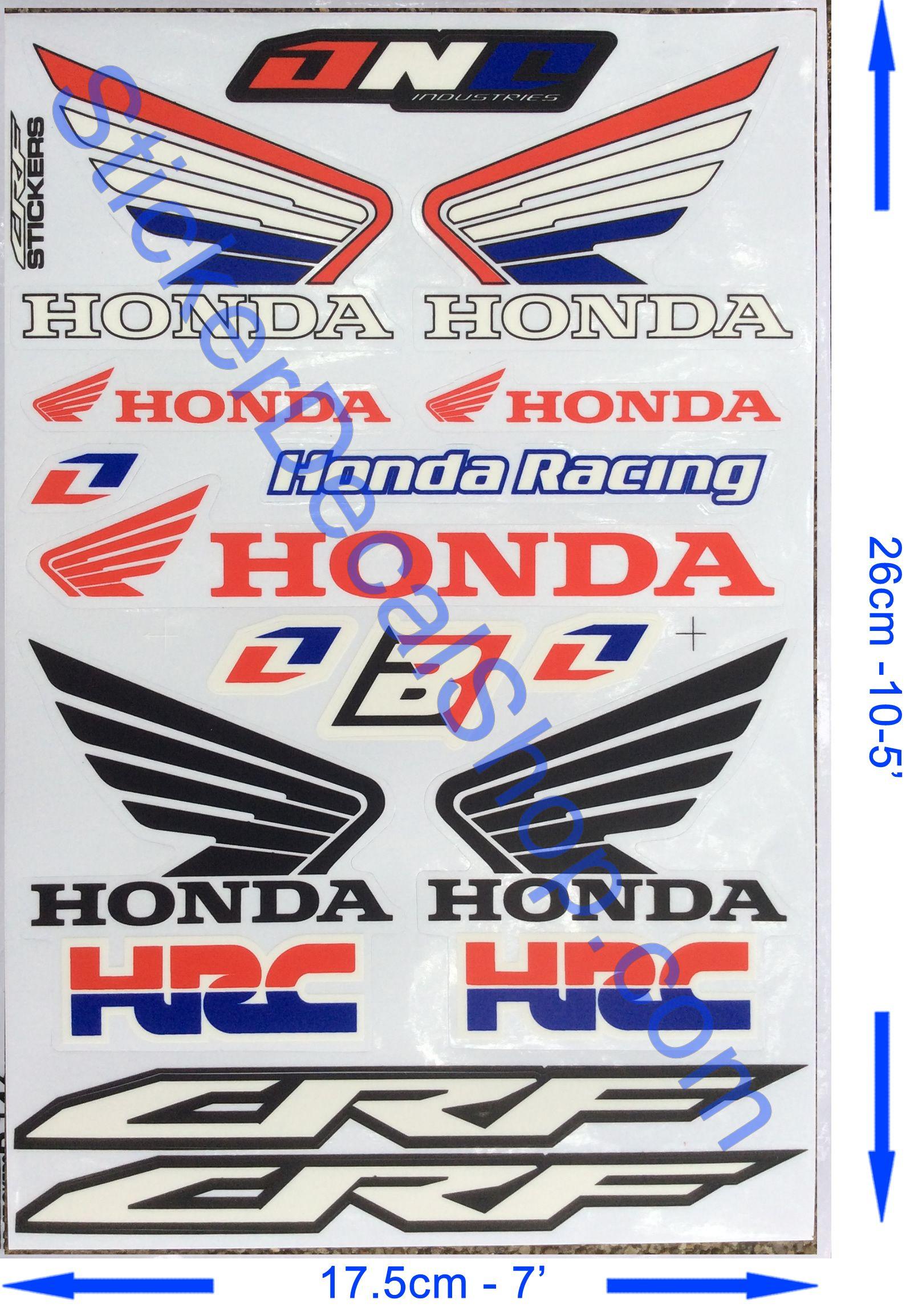 HRC Vinyl Sticker