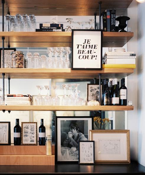 Bar Layered Shelves Bars For Home Home Decor