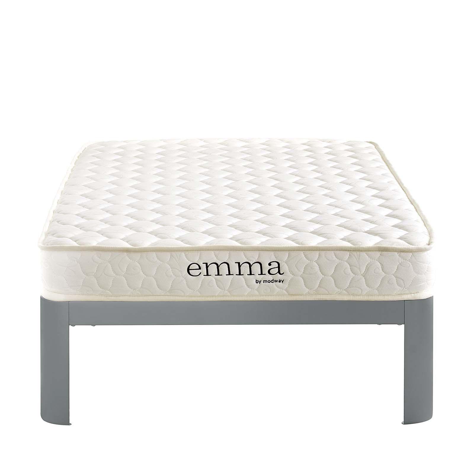 modway furniture modern emma 6 twin xl mattress mod 5732 twin