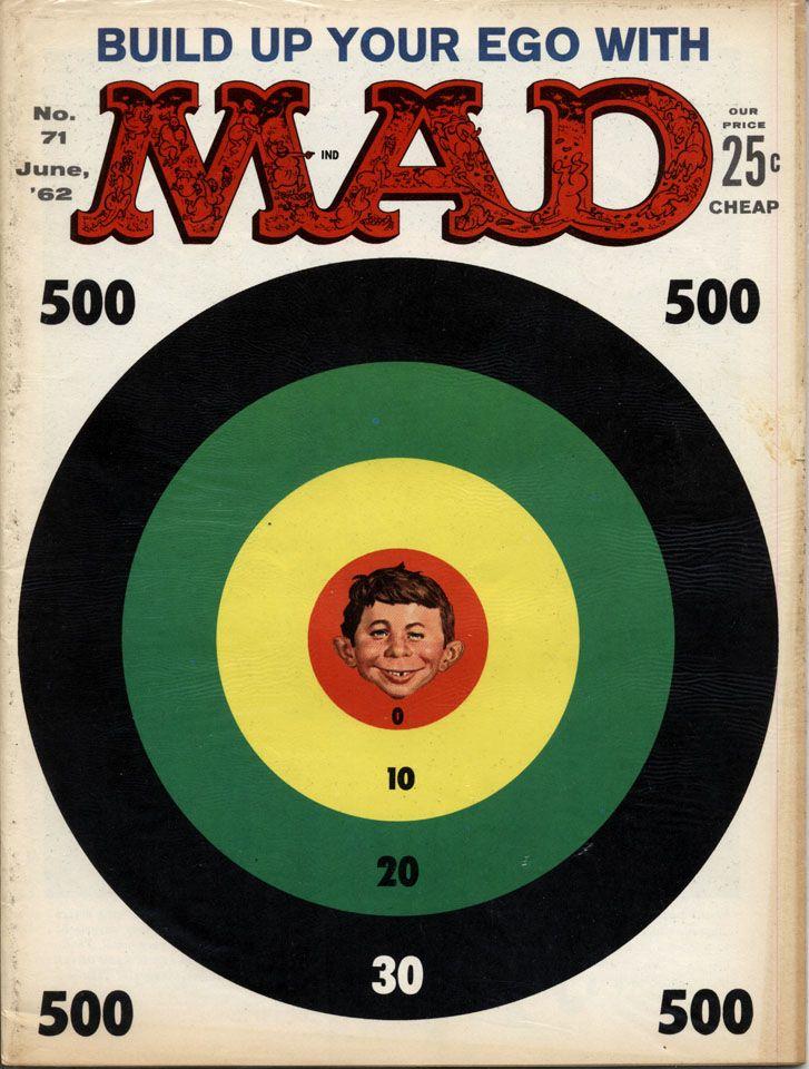 MAD Magazine No. 71, June 1962 - cover