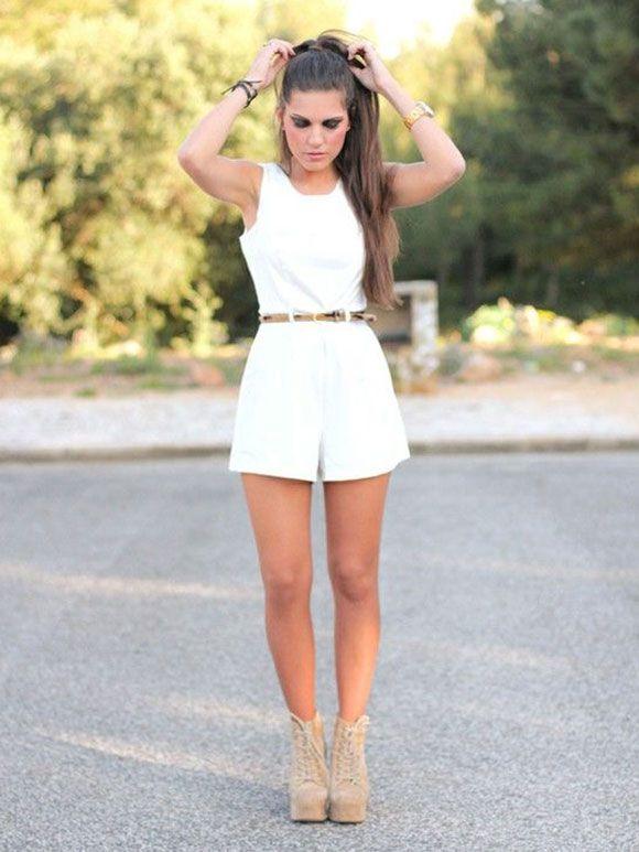 Verrassend Fashion Fix: Korte jumpsuit   Korte jumpsuit, Stijl, Schattige outfits VK-14