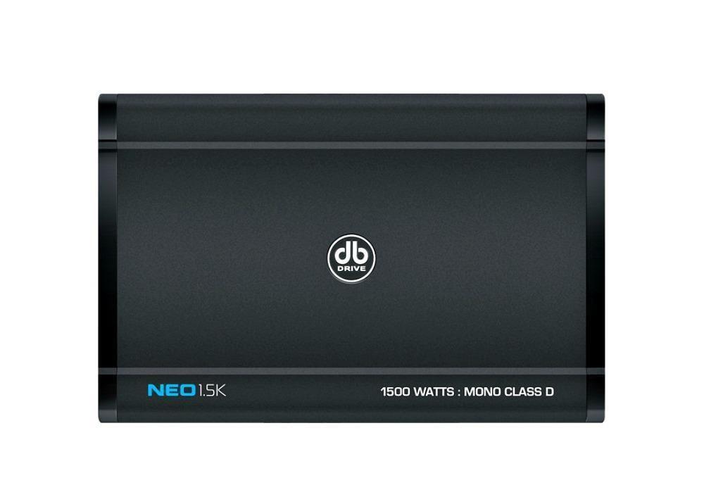 Db drive neo15k 1500 w max stereo class d monoblock car