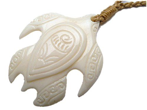 Hawaiian honu tribal sea turtle carved bone pendant necklace east hawaiian honu tribal sea turtle carved bone pendant necklace east of maui hawaiian store aloadofball Gallery
