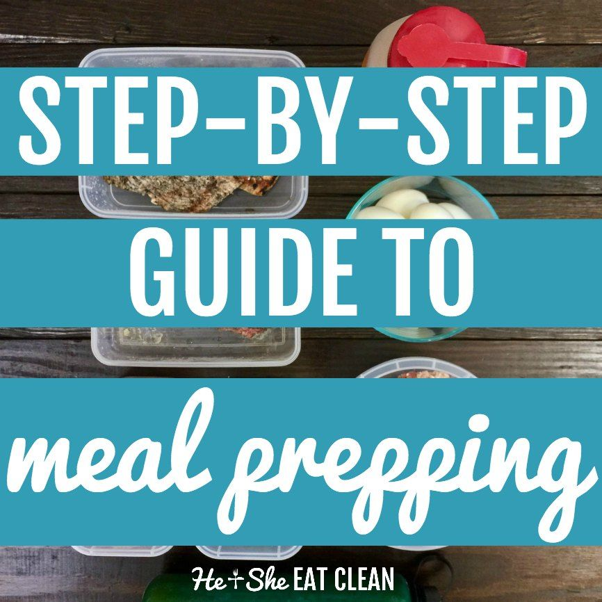 How to Meal Prep for the Week Meal prep, Health, Meal