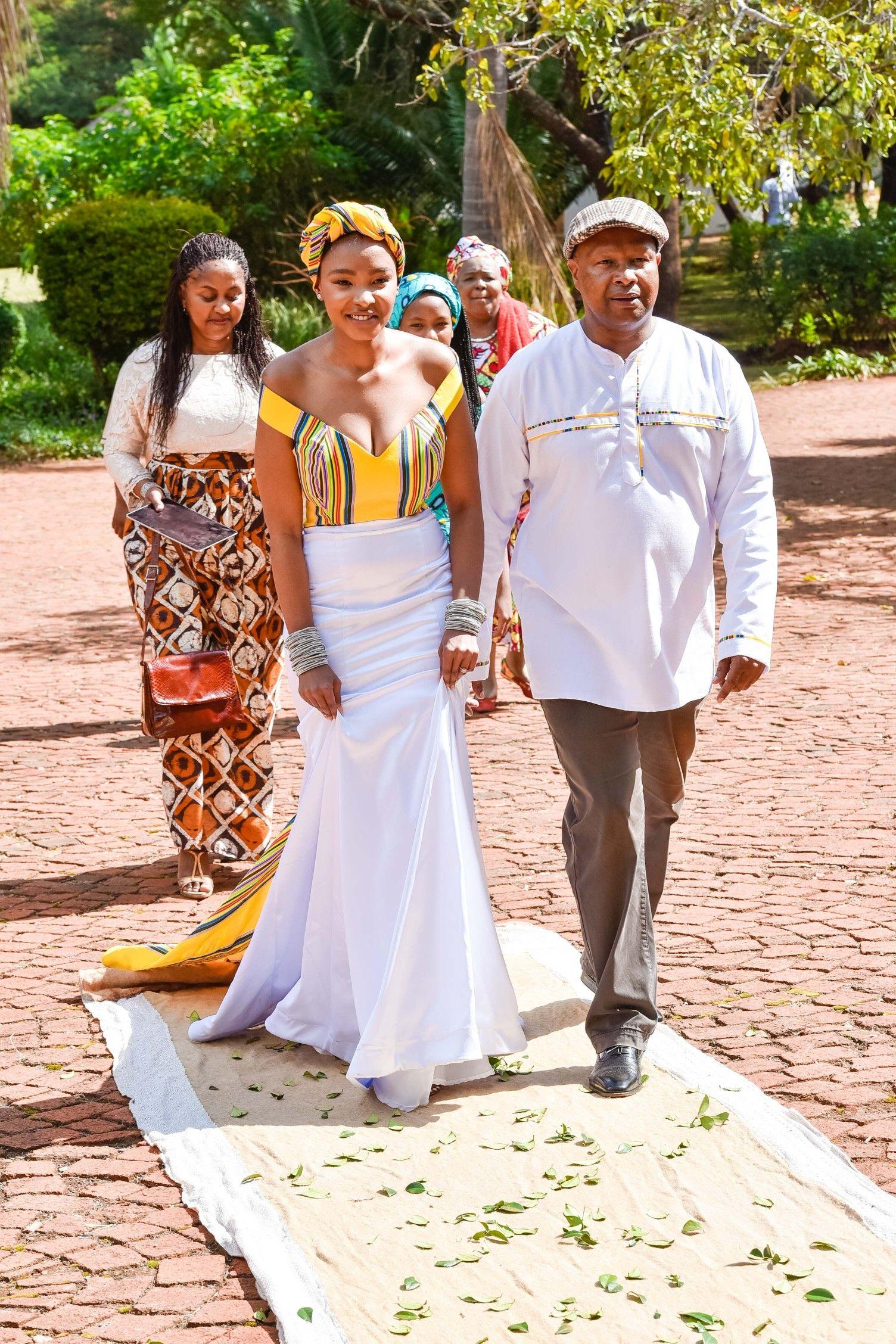 A Stylish Venda Wedding South african weddings