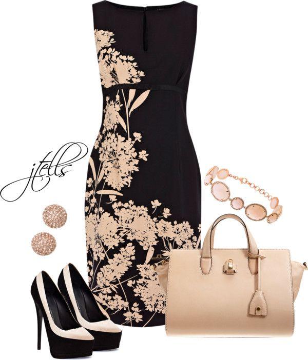Vestidos negros con detalles