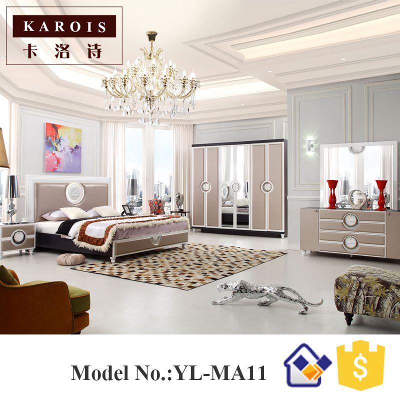 Schlafzimmer Mobel Set #21: Guangdong Foshan Neuesten Doppelbett Entwirft Moderne Schlafzimmer Möbel Set