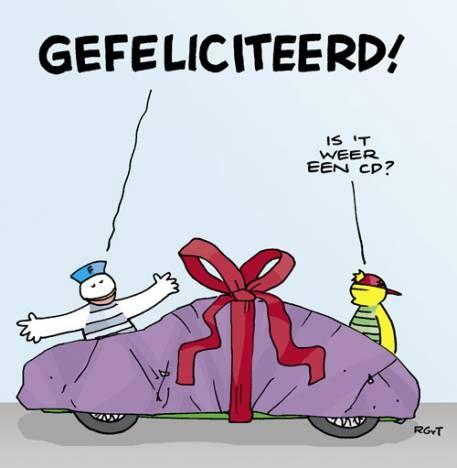 Proficiat Van Fokke En Sukke Fijne Verjaardag Grappig Verjaardag Humor Verjaardagskaart