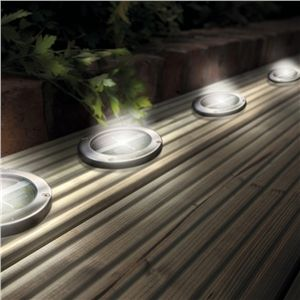 Led bulb outdoor lighting led solar lights stainless steel led bulb outdoor lighting led solar lights stainless steel solar led light deck mozeypictures Image collections