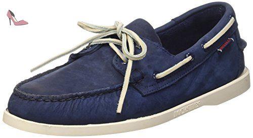 B720150, Chaussures Bateau Homme - Bleu (Bright Blue), 41.5 EUSebago
