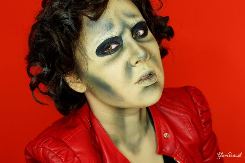 Michael Jackson S Thriller Makeup Inspired Makeup Tutorial Makeup Geek Michael Jackson Thriller Makeup Michael Jackson