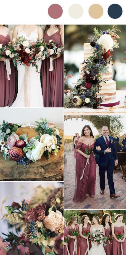 Die Top 10 Hochzeitsfarben Die 2019 Im Trend Liegen Werden Em 2020 Cores Para Casamento Casamento Coisas De Casamento