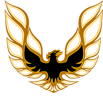 Psd detail firebird logo pontiac trans am official for Logos de garajes
