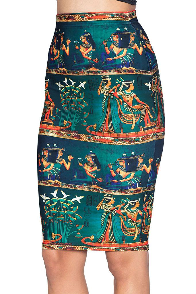 The Nile Midi Pencil Skirt