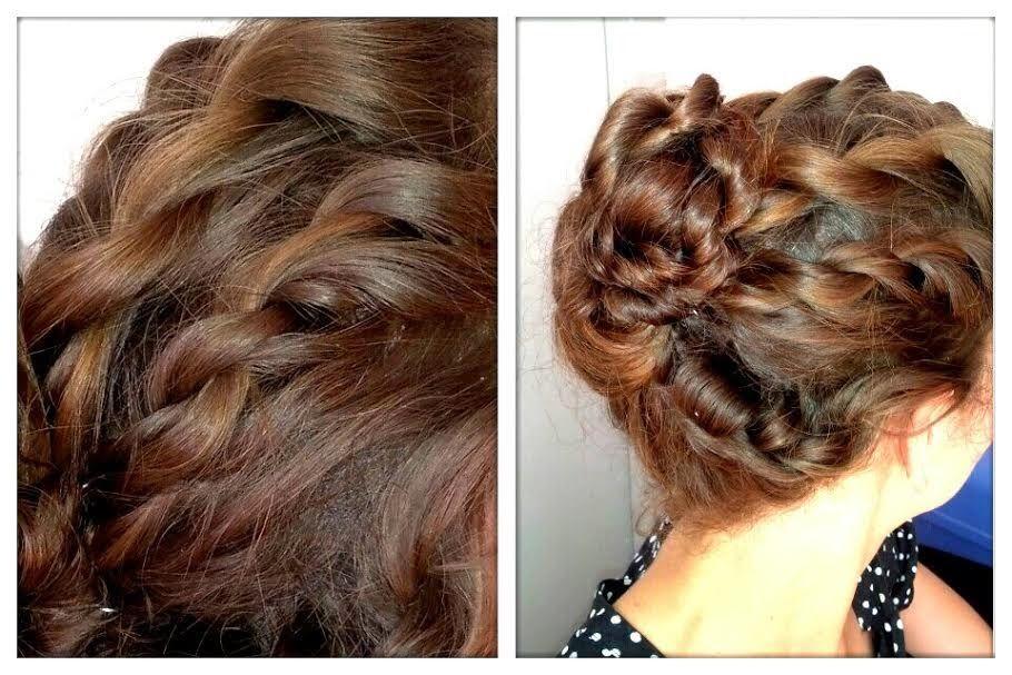 Le chignon multi-torsade, une coiffure originale et facile | Coiffure, Coiffure originale, Chignon