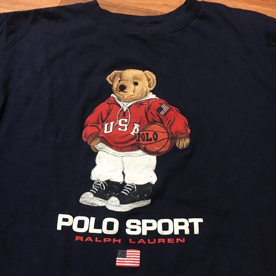 dc70b6f7a Vintage Polo Bear Shirt || Polo Sport || Ralph Lauren | i fucks with ...
