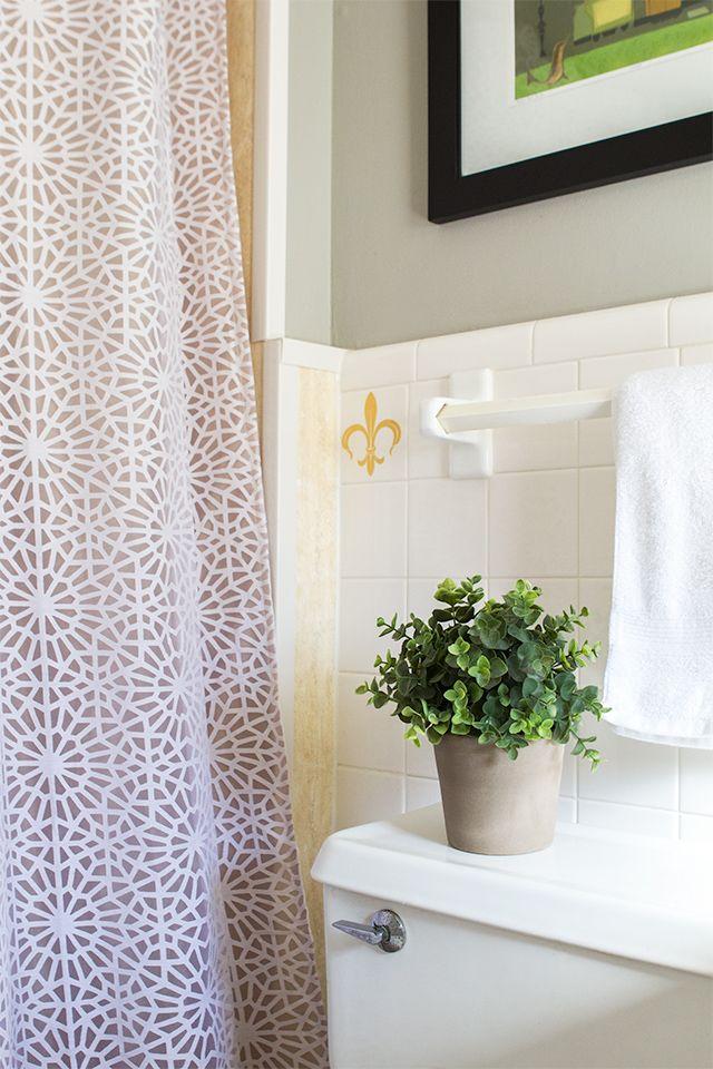 House Tour: Master Bathroom | Master bathrooms, Shower doors and Doors