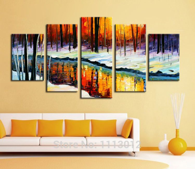 Fantastic Abstract Wall Painting Ideas Gallery - Wall Art Design ...