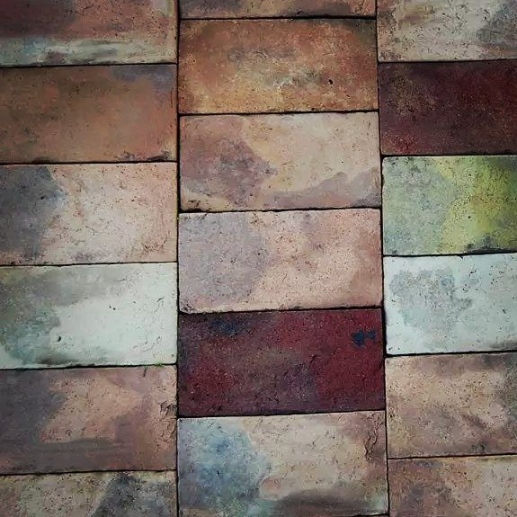 Rectangle Tile Old Rustic Antique Reclaimed Terracotta