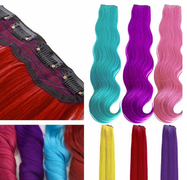 Colorful Flare Clip In Hair Extensions And More By Celebrity Strands