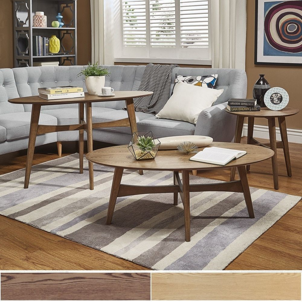 Rona Wood Accent Tables iNSPIRE Q Modern by iNSPIRE Q