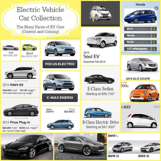 List Of Cars >> 2014 List Of Current And Coming Ev Cars Electric Vehicles