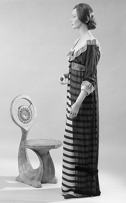 Evening dress, Poiret, 1910