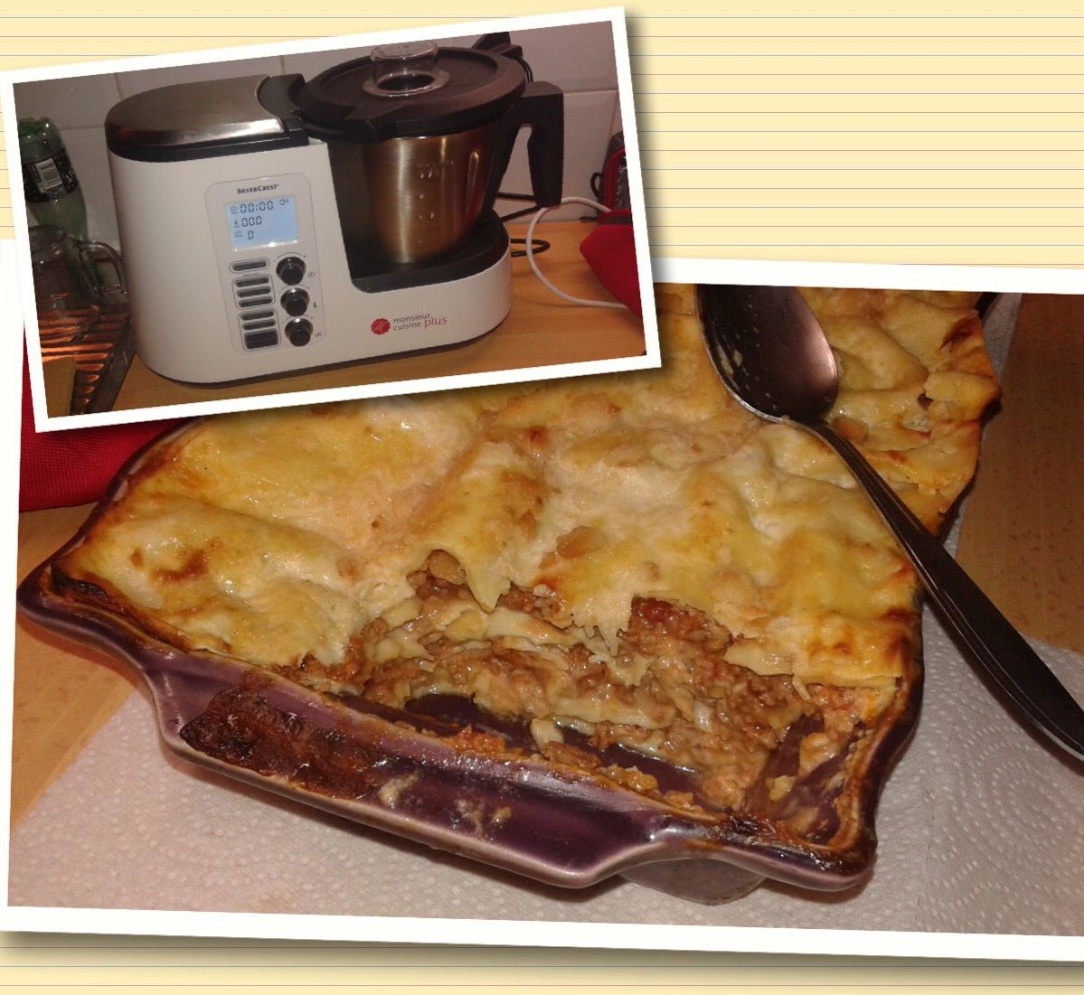 Thermomix Cuisiner Pour 6 Et Plus lasagnes