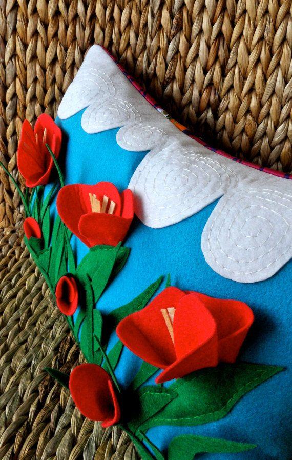 esta almohada esta realmente maravillosa e ingeniosa me encantaria realizarla #concursosingerchile