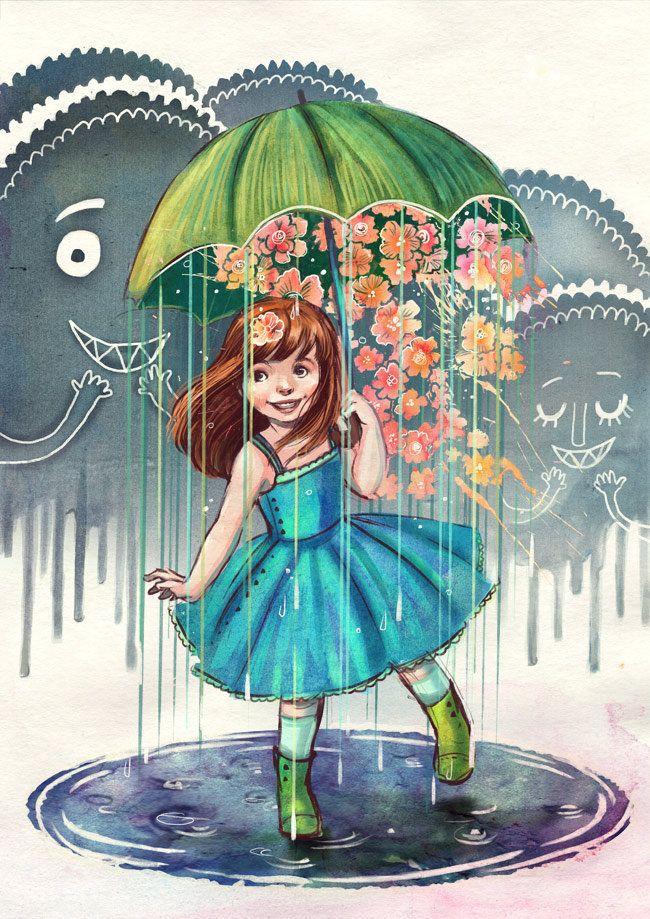 Дождь ура картинки