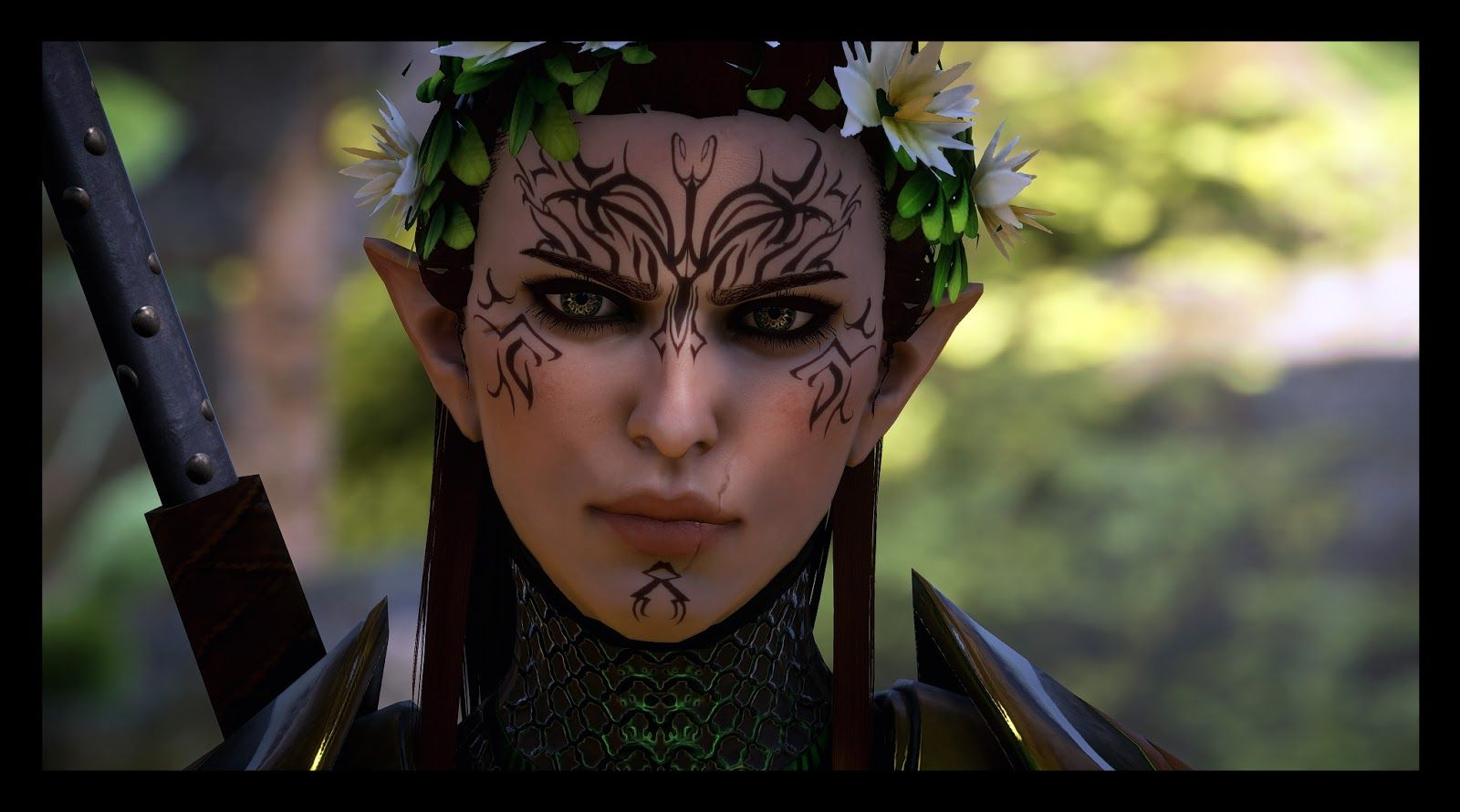 dalish tattoos Yahoo Image Search Results Elven tattoo