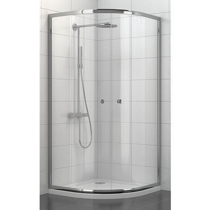Douchecabine 90x90 Praxis.Aquavive Douchewand Java Kwartrond Praxis Badkamer Bathroom