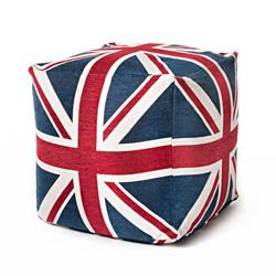 Exceptional @Overstock   This 24 Inch Union Jack Cube Features Traditional Colors Of  Red White And Amazing Design