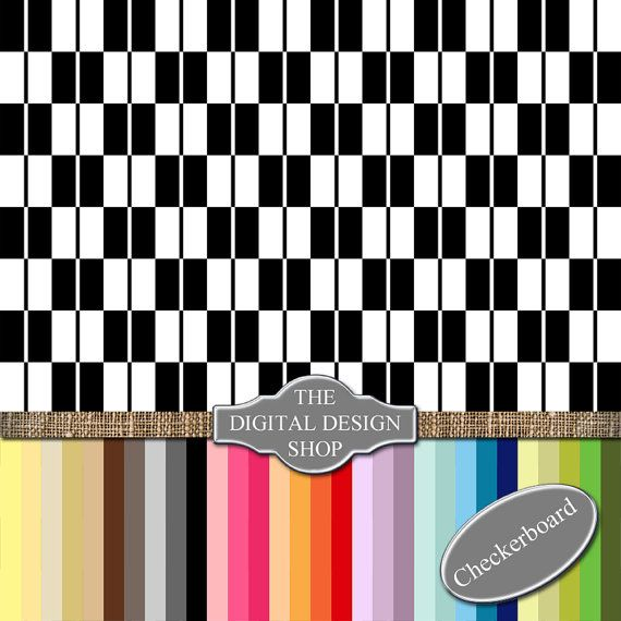 Checkboard / Stripe  Digital Scrapbook by Thedigitaldesignshop