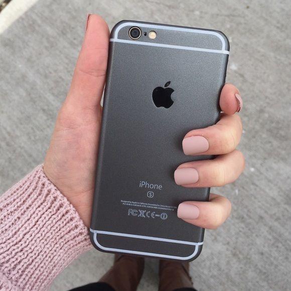 matte black Apple iPhone 6/6s phone case | Iphone, Phone cases 6s ...