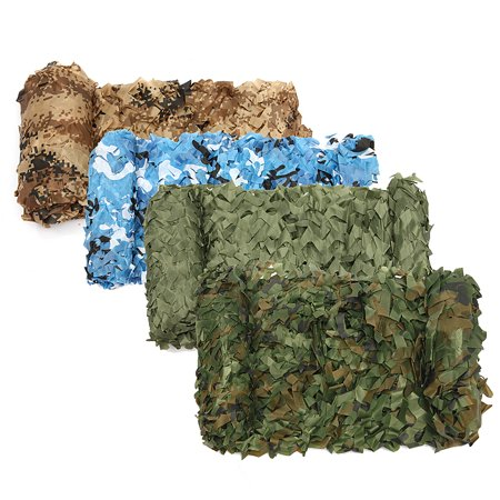 Woodland Camouflage Netting Military Army Camo Hunting Shooting Hide Cover Net