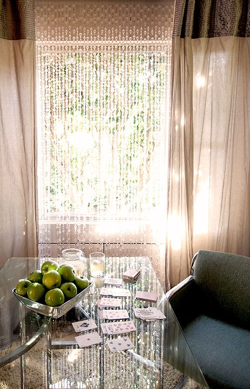 glass bead curtain