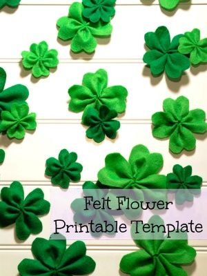 Easy Printable Shamrock Template | Your Best DIY Projects ...