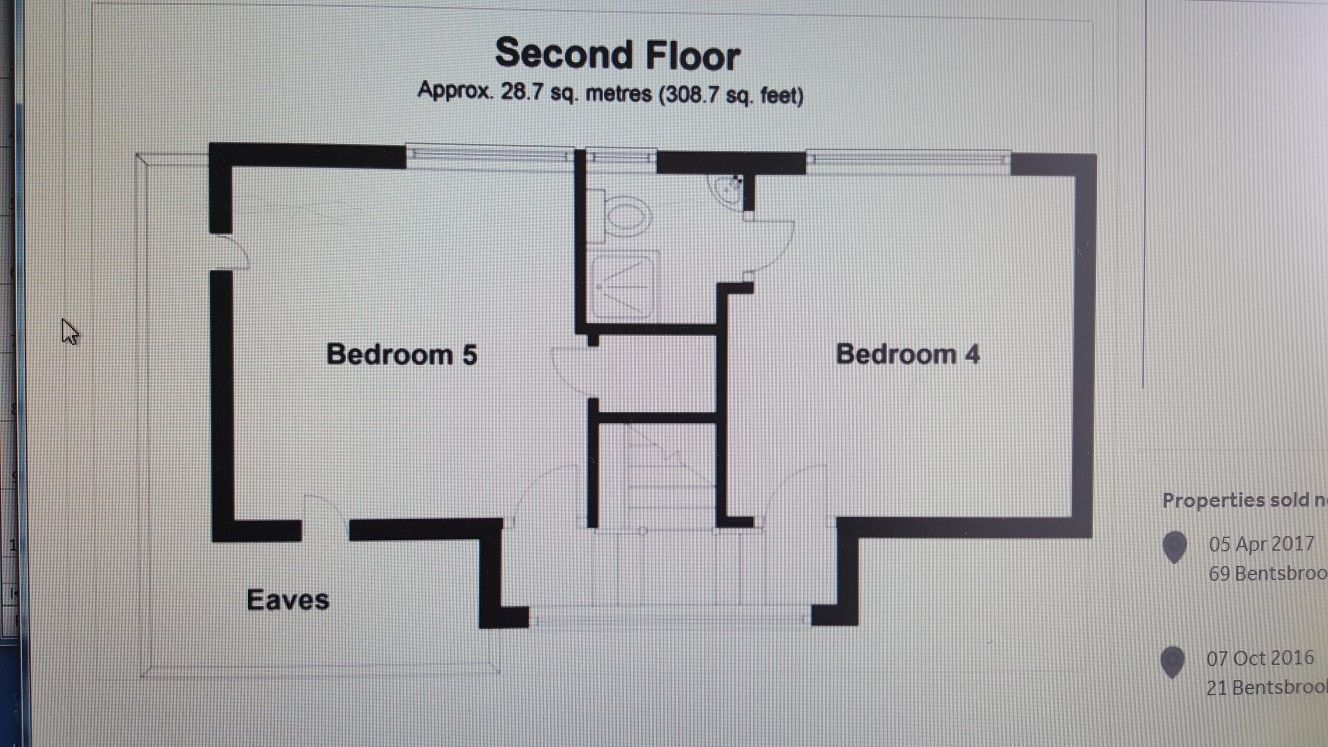 2 bedroom loft  Layout for  bedrooms in the loft  Loft conversion  Pinterest
