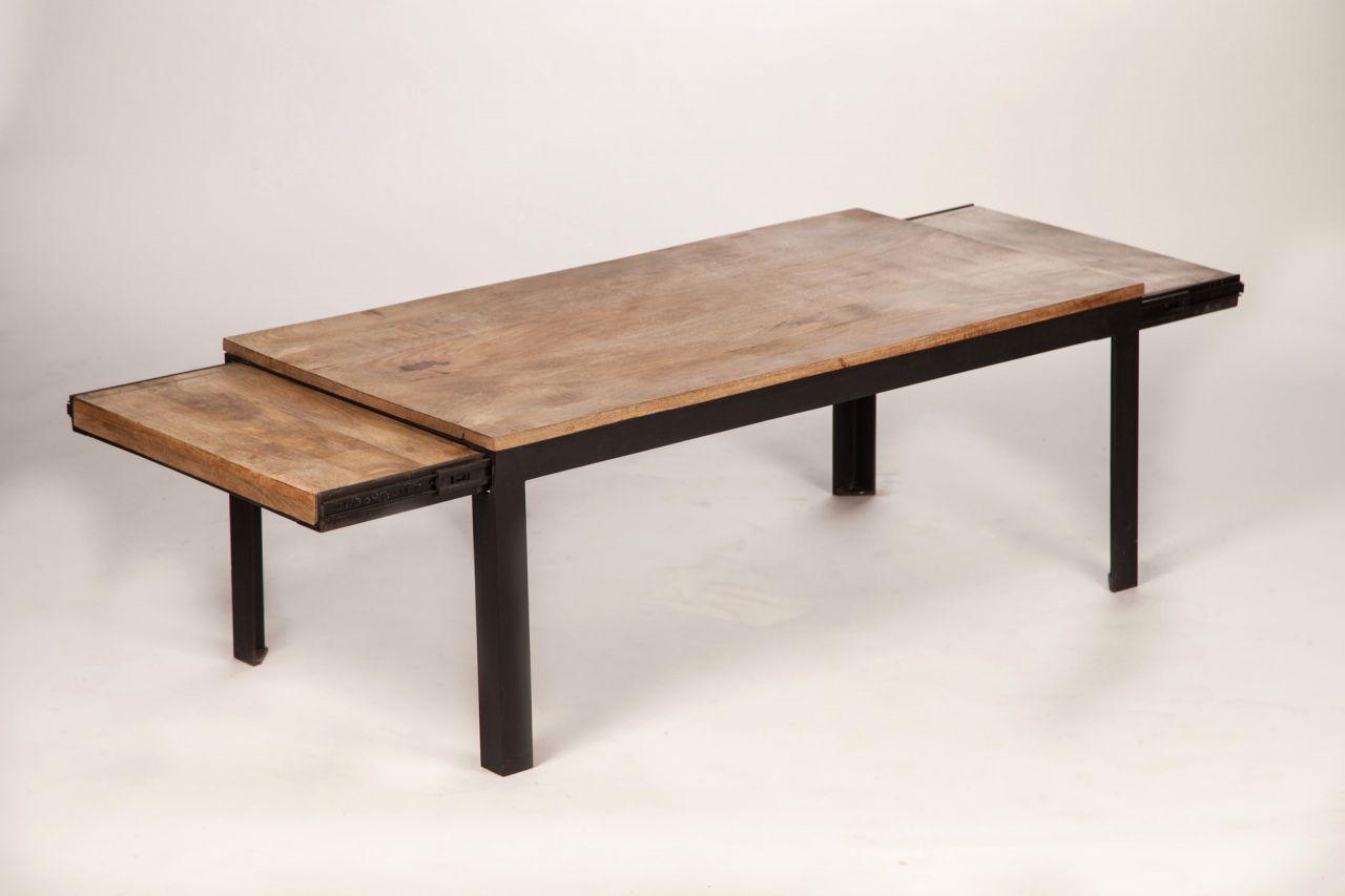 70 Table Style Industriel Avec Rallonges Desember 20192018 Tavoli Accessori