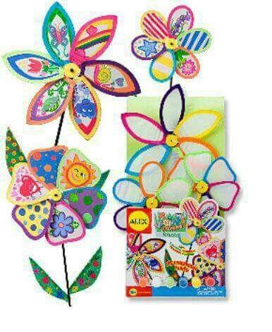 Molinos De Viento En Formas De Flore Para Jardin Flores Jardines