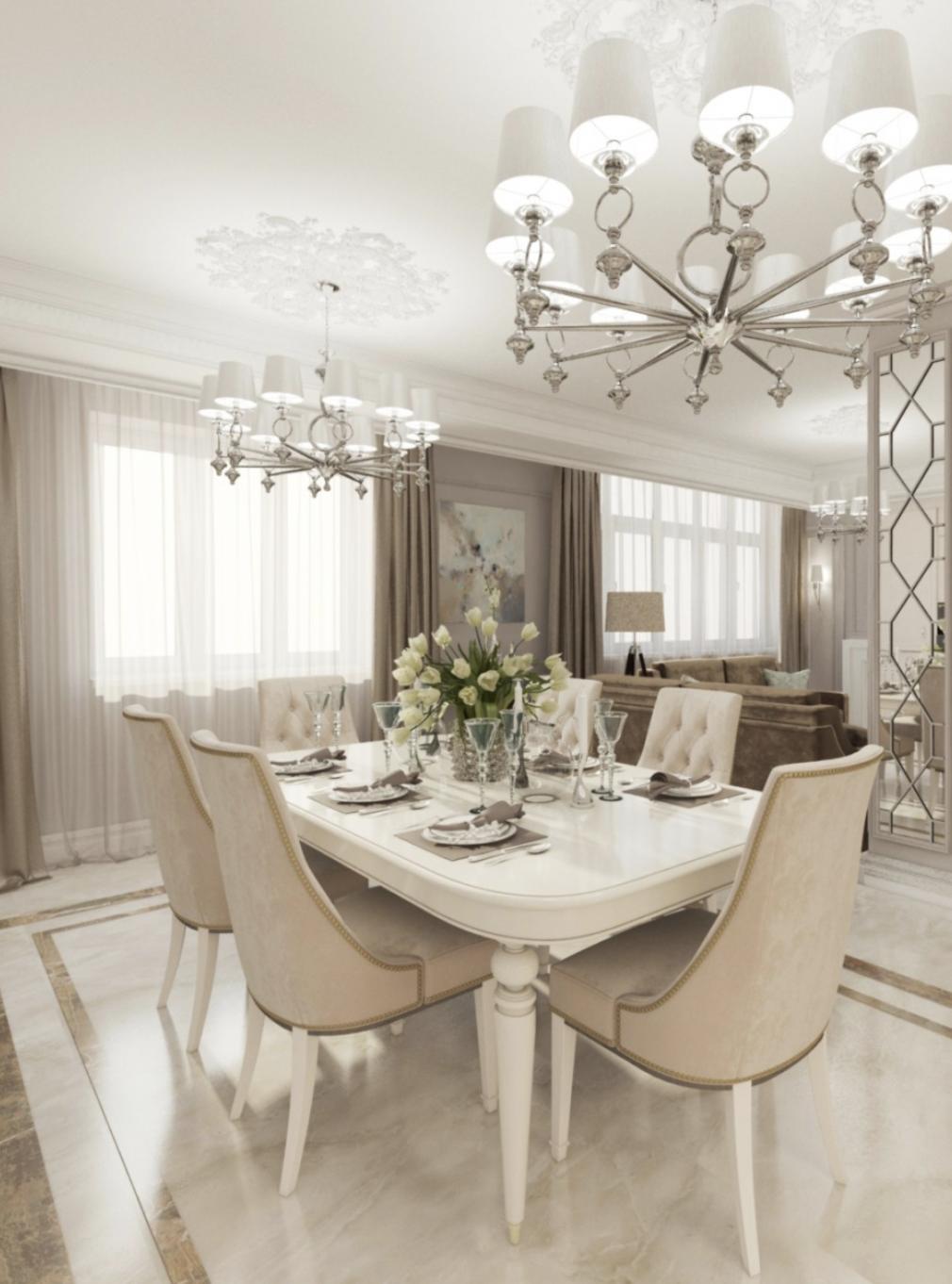 Tatiana Zamanskaya Luxury, modern and contemporary dining
