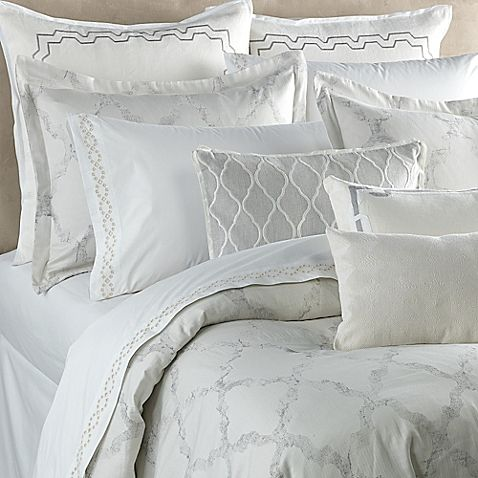 Dress Your Bed In High End Style With The Exquisite Vera Fretwork Duvet Cover