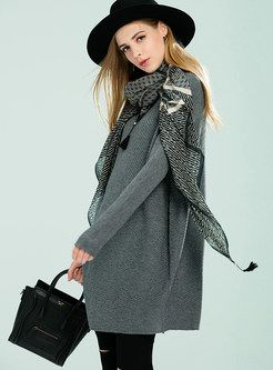 Casual Loose Pure Color Sweater
