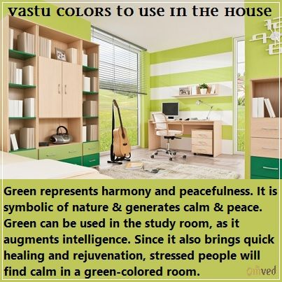 Vaastu Colors To Use In House Green Represents Harmony And