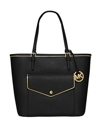 MICHAEL MICHAEL KORS #Specchio Jet Set Large Pocket Multifunction Tote Bag