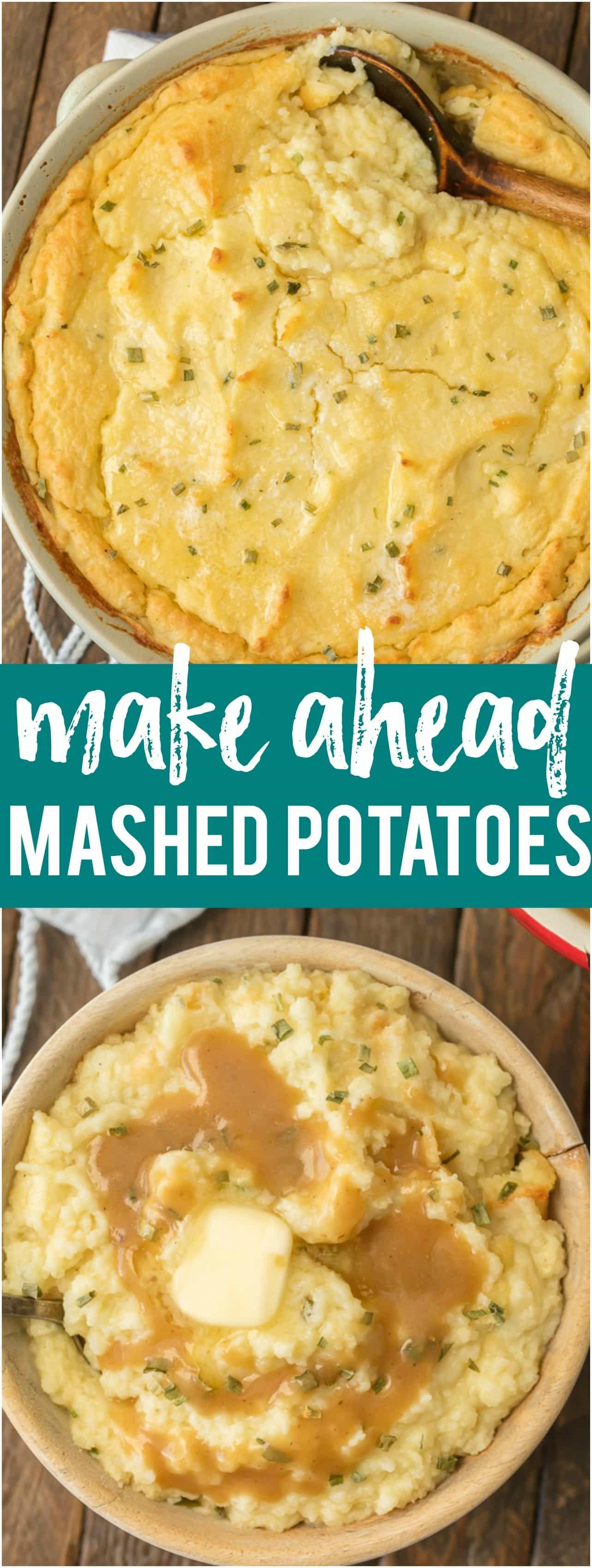 Make Ahead Mashed Potatoes   Recipe   Recipes I Want to ... - photo#41