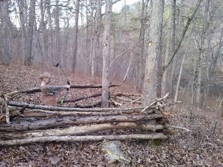 Made A Few Blinds Like This Over The Years Hunting Blinds Deer Blind Hunting