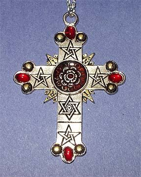 Rose croix also called the rose or rosy cross designed by sl rose croix also called the rose or rosy cross designed by sl macgregor mathers aloadofball Choice Image