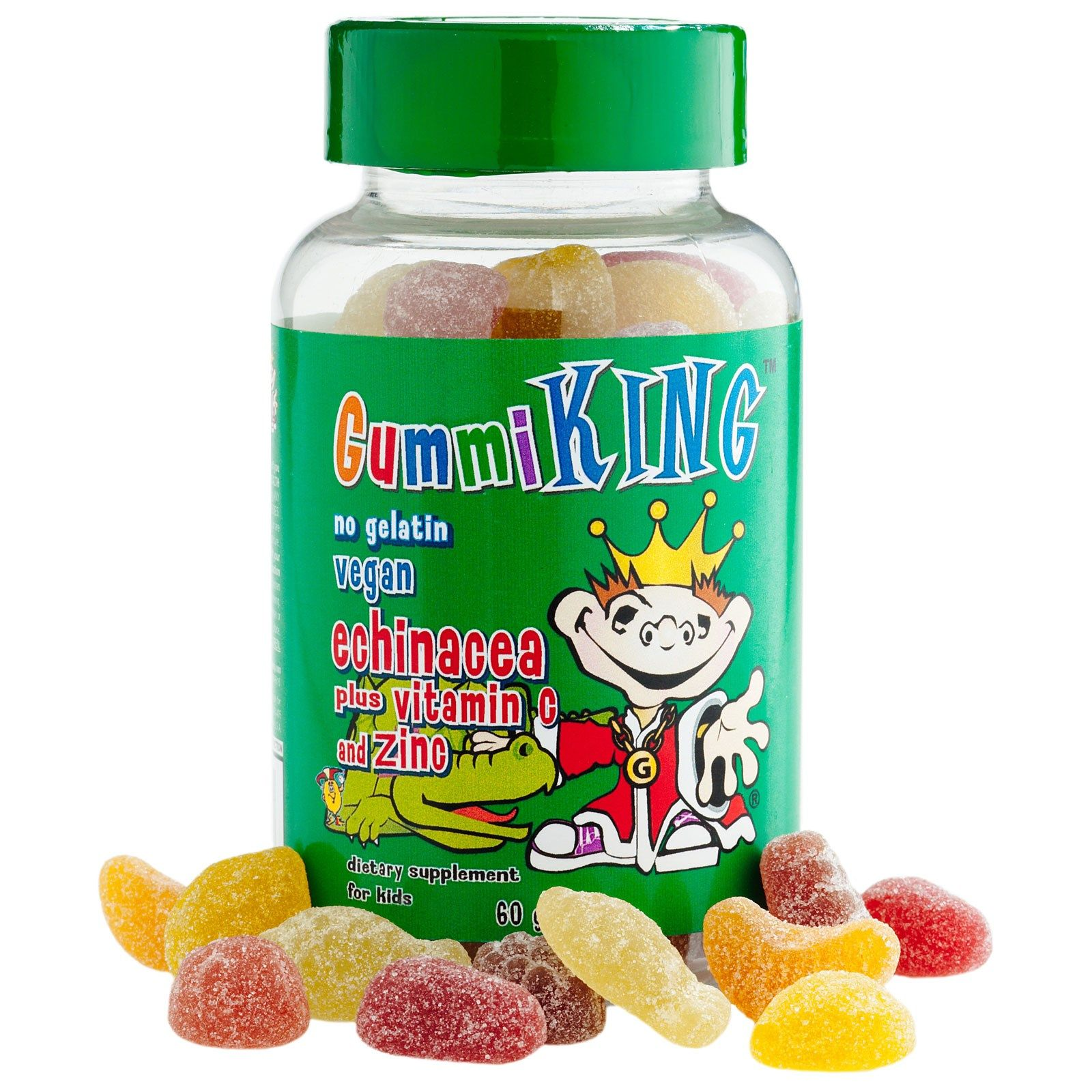 GummiKing, Echinacea Plus Vitamin C and Zinc, For Kids, 60
